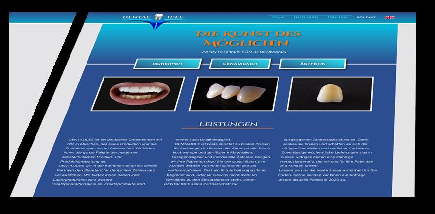 zahntechnik webseite