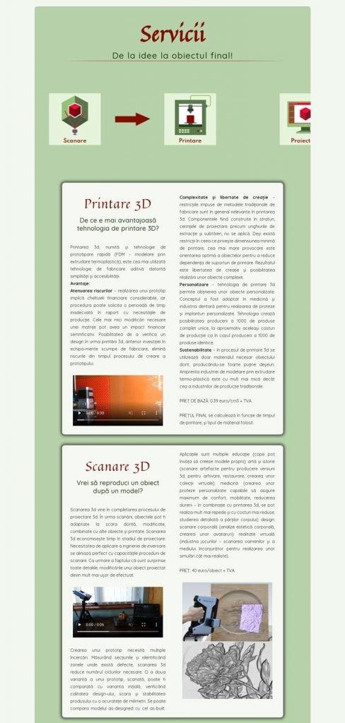 site web de calitate
