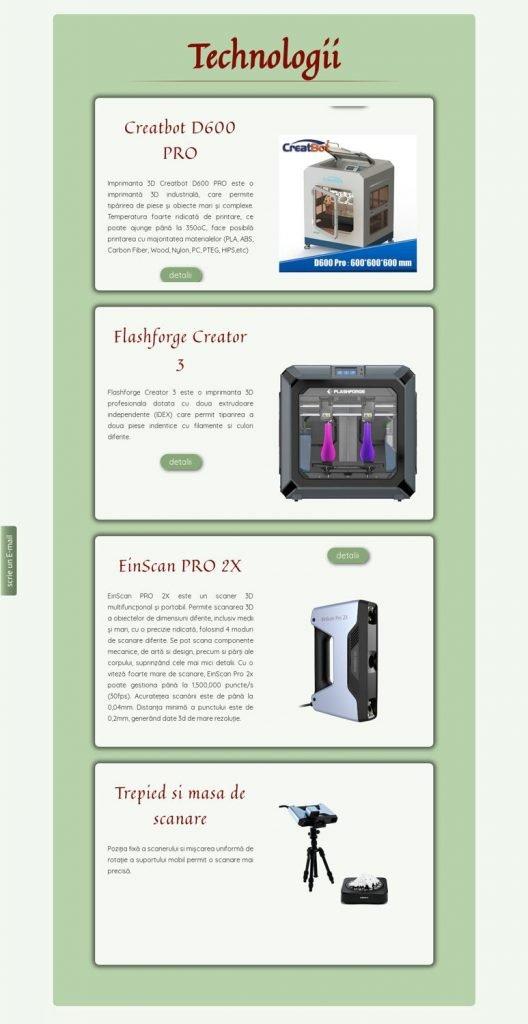site web imprimante 3d