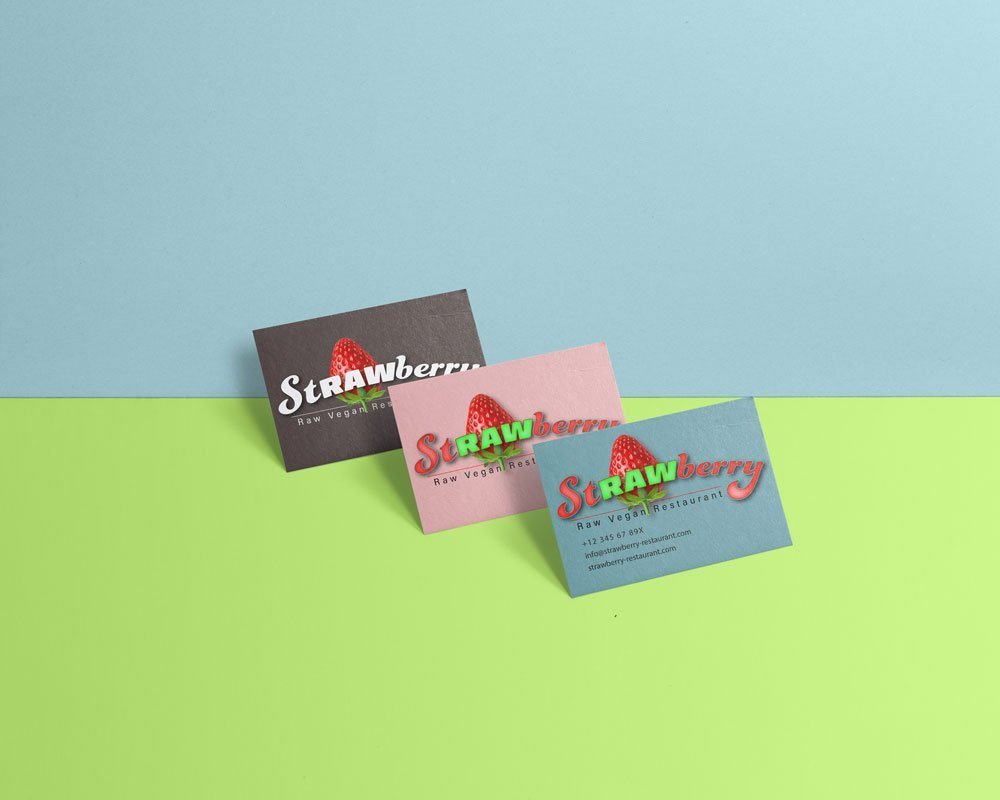 business cards graphic design