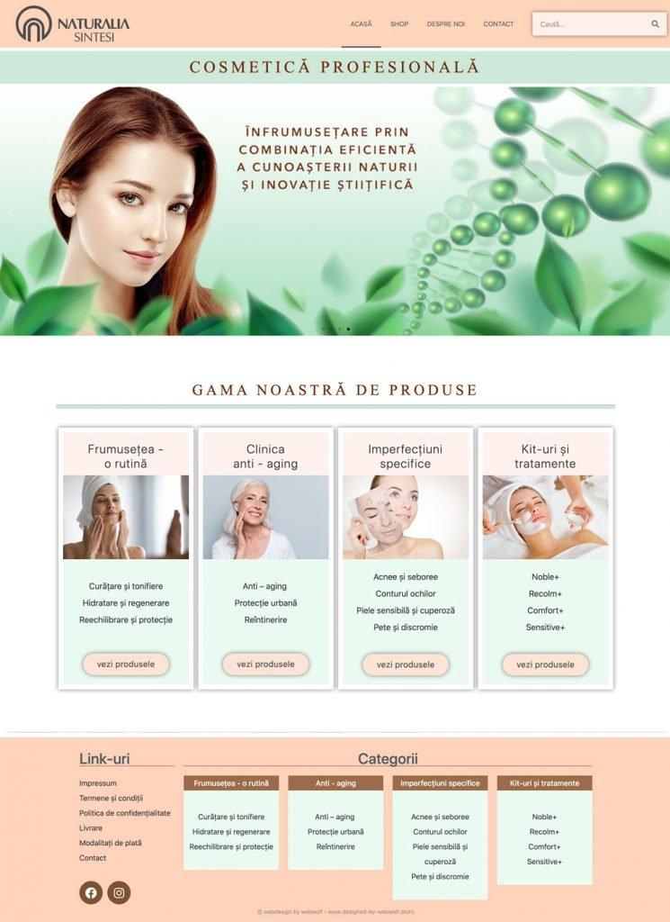 website cosmetics