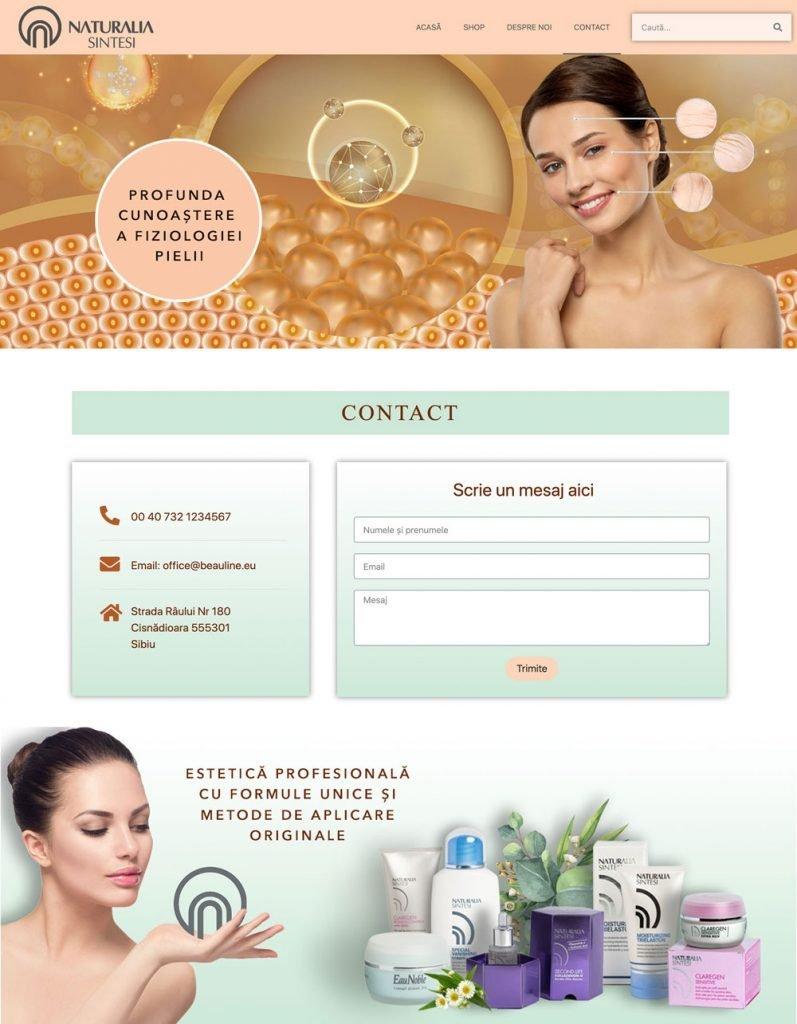 website cosmetica