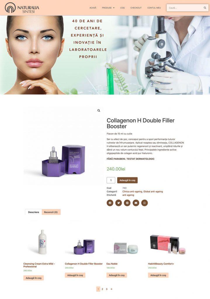 site web de cosmetica